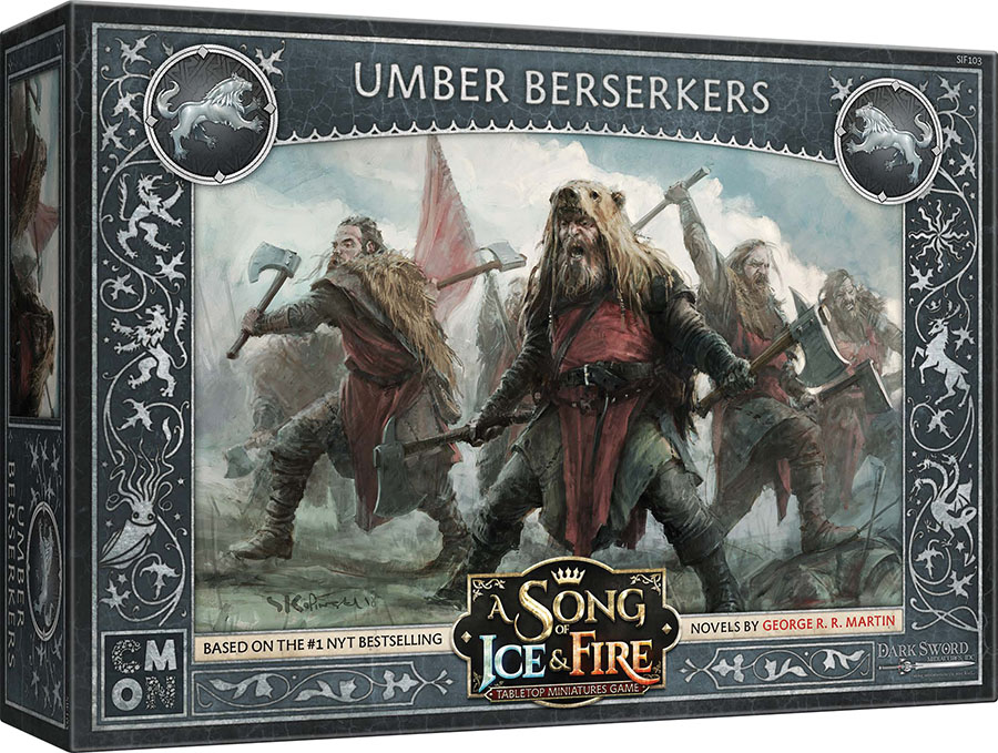 A Song Of Ice & Fire: Tabletop Miniatures Game: Stark Umber Berserkers Unit Box Game Box