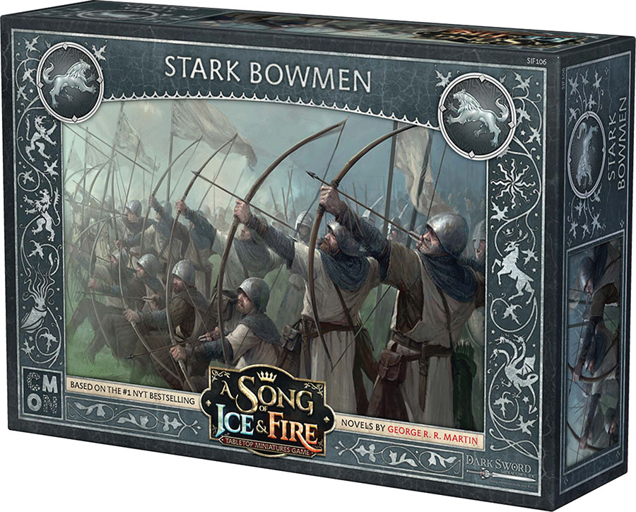 A Song Of Ice & Fire: Tabletop Miniatures Game: Stark Bowmen Unit Box Game Box