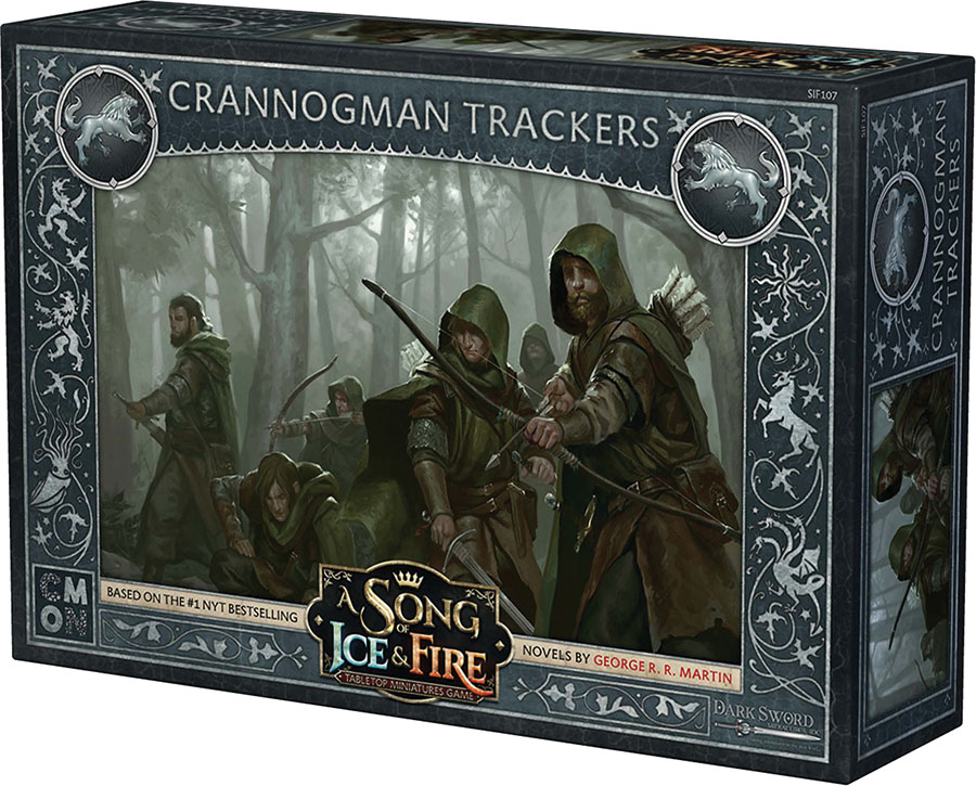 A Song Of Ice & Fire: Tabletop Miniatures Game: Stark Crannogman Trackers Unit Box Game Box