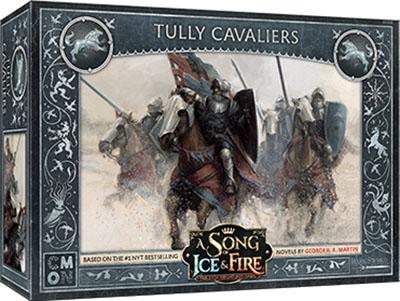 A Song Of Ice & Fire: Tabletop Miniatures Game: Stark Tully Cavaliers Unit Box Game Box