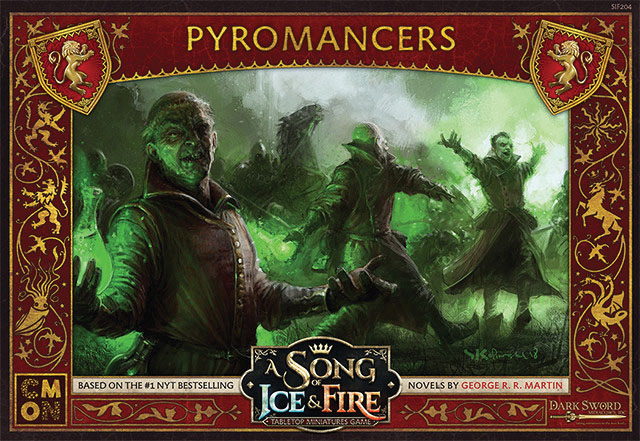 A Song Of Ice & Fire: Tabletop Miniatures Game: Lannister Pyromancers Unit Box Game Box