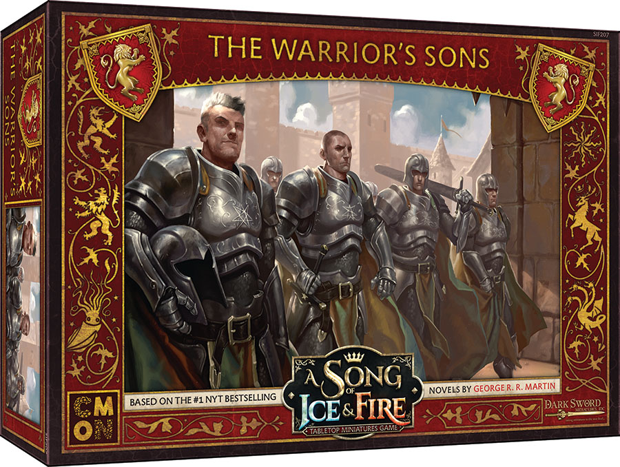 A Song Of Ice & Fire: Tabletop Miniatures Game: Lannister The Warrior`s Sons Unit Box Game Box