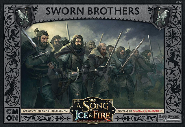 A Song Of Ice & Fire: Tabletop Miniatures Game: Sworn Brothers Unit Box Game Box