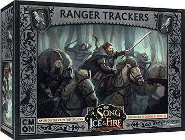 A Song Of Ice & Fire: Tabletop Miniatures Game: Night`s Watch Ranger Trackers Unit Box Game Box