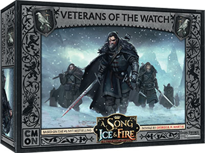 A Song Of Ice & Fire: Tabletop Miniatures Game: Night`s Watch Veterans Of The Watch Unit Box Game Box