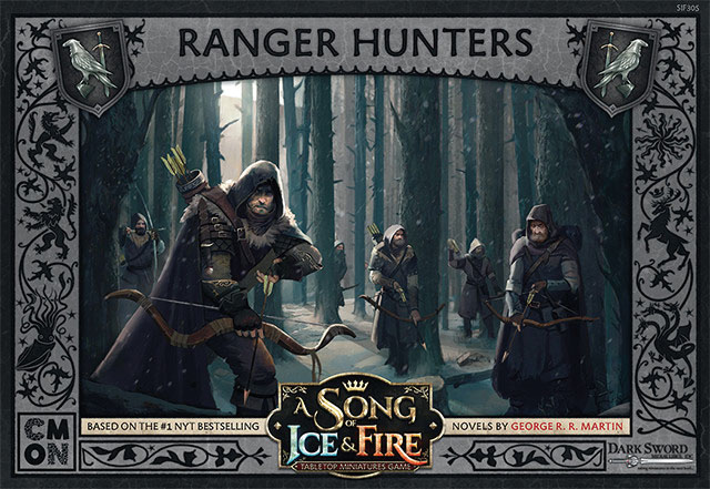 A Song Of Ice & Fire: Tabletop Miniatures Game: Ranger Hunters Unit Box Game Box