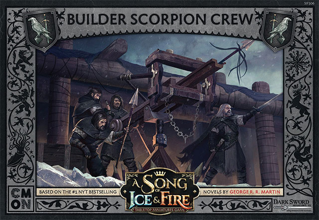 A Song Of Ice & Fire: Tabletop Miniatures Game: Builder Scorpion Crew Unit Box Game Box