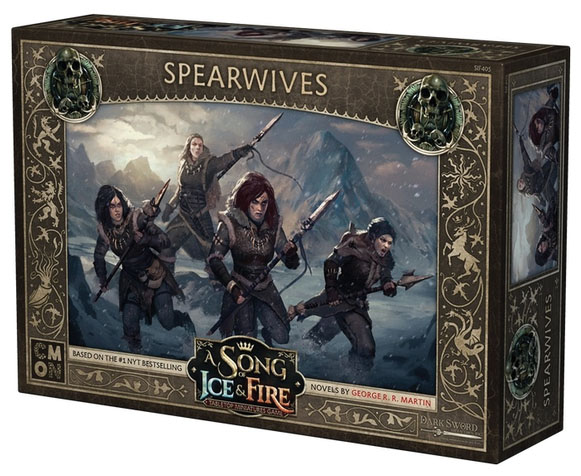 A Song Of Ice & Fire: Tabletop Miniatures Game: Spearwives Unit Box Game Box