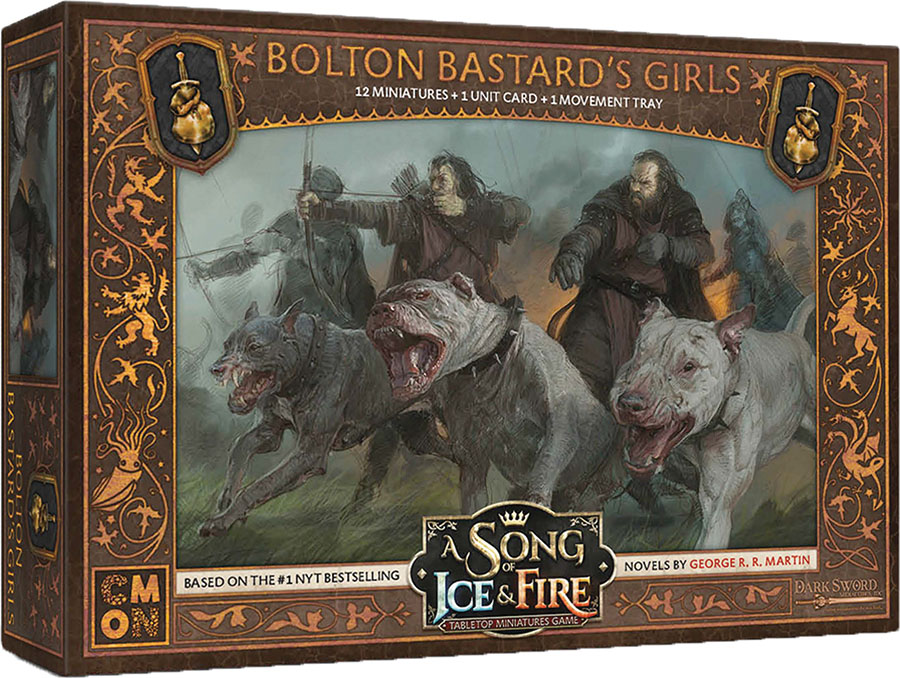 A Song Of Ice & Fire: Tabletop Miniatures Game: Bolton Bastard`s Girls Unit Box Game Box
