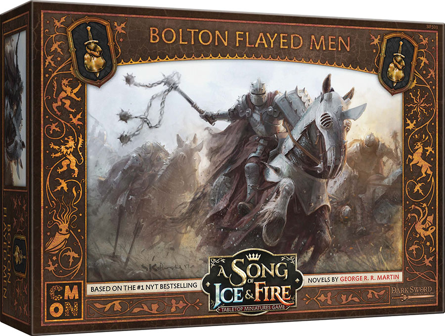 A Song Of Ice & Fire: Tabletop Miniatures Game: Bolton Flayed Men Unit Box Game Box