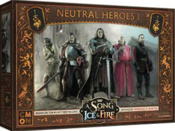 A Song Of Ice & Fire: Tabletop Miniatures Game: Neutral Heroes #1 Box Front