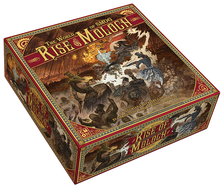 The World Of Smog: Rise Of Moloch Box Front