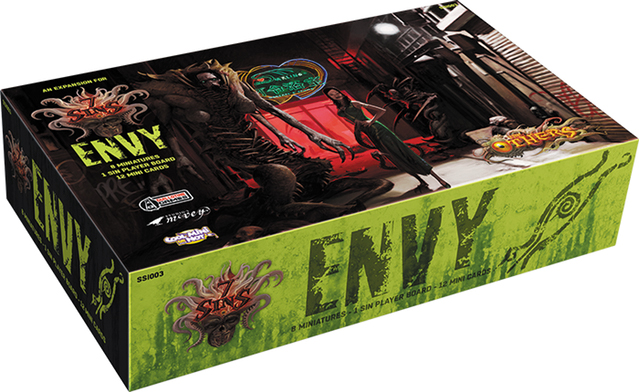 The Others: Envy Box Box Front