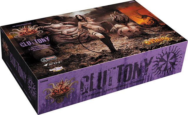 The Others: Gluttony Box Box Front