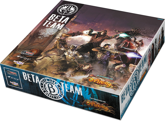 The Others: Beta Team Box Box Front