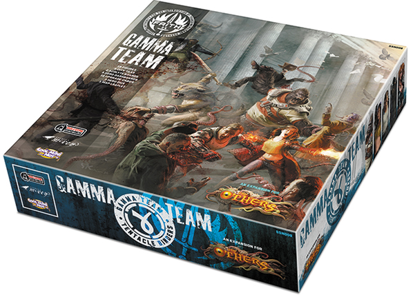 The Others: Gamma Team Box Box Front
