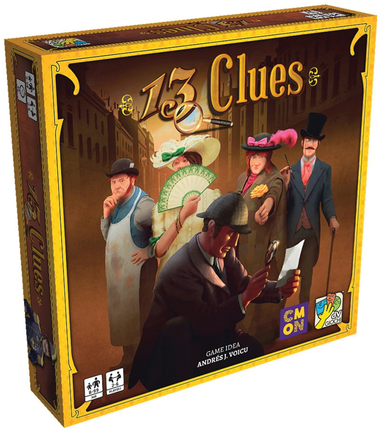 13 Clues Box Front
