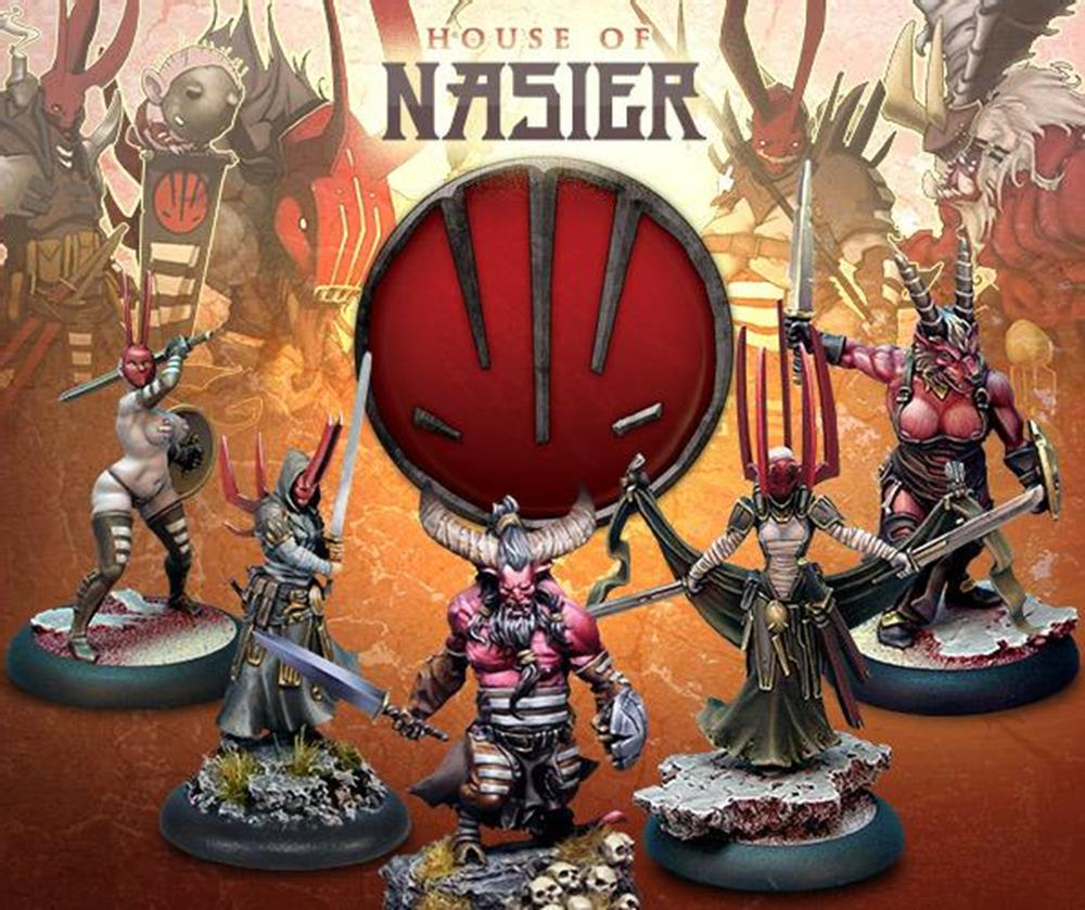 Wrath Of Kings: House Nasier - Rank 1 Specialist Box Box Front