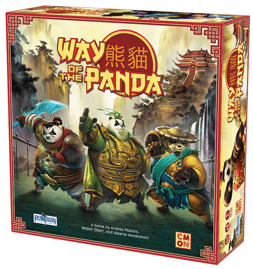 Way Of The Panda Box Front