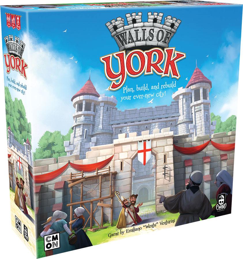 Walls Of York Game Box