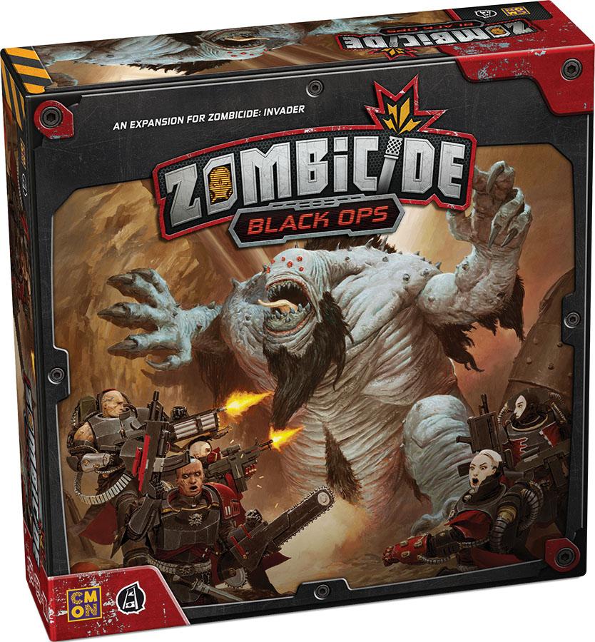Zombicide: Invader - Black Ops Expansion Game Box
