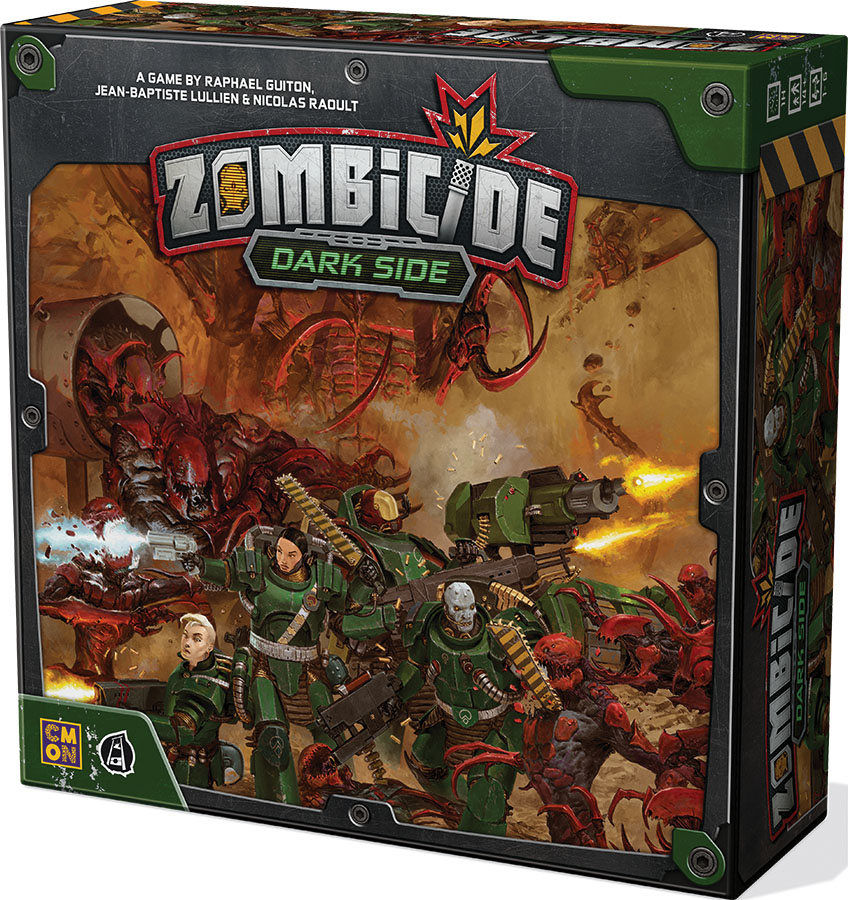 Zombicide: Invader - Dark Side (stand Alone Or Expansion) Game Box