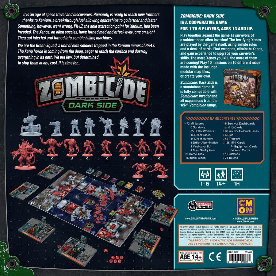 Zombicide: Invader - Dark Side (stand Alone Or Expansion)