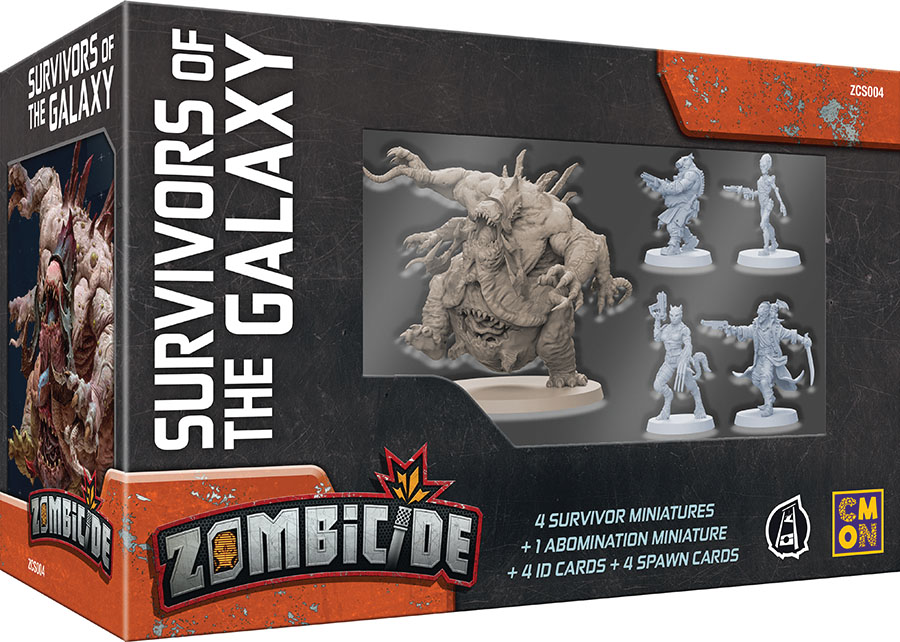 Zombicide: Invader - Survivors Of The Galaxy Box Set Game Box
