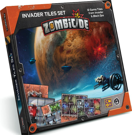 Zombicide: Invader - Tiles (12) Game Box