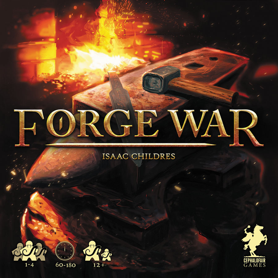 Forge War (second Printing) Box Front
