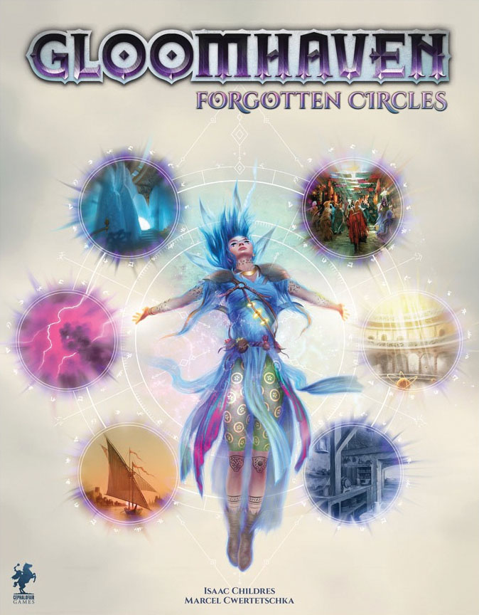 Gloomhaven: Forgotten Circles Expansion Game Box