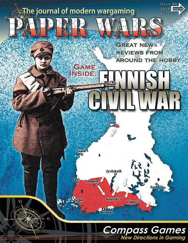Paper Wars #84: Finnish Civil War Box Front