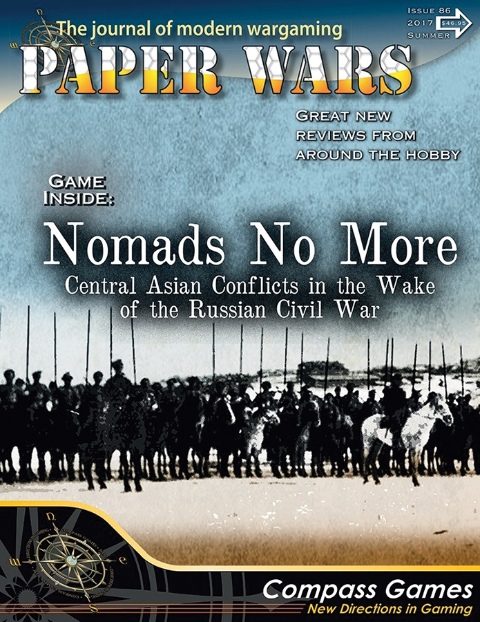 Paper Wars #86: Nomads No More Box Front