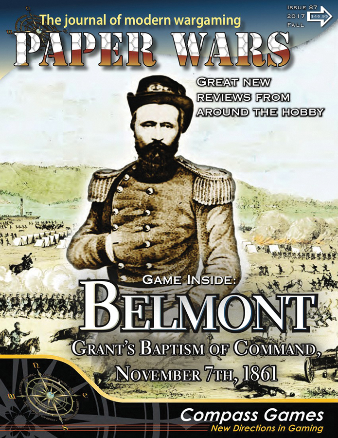 Paper Wars #87: Battle Of Belmont Box Front