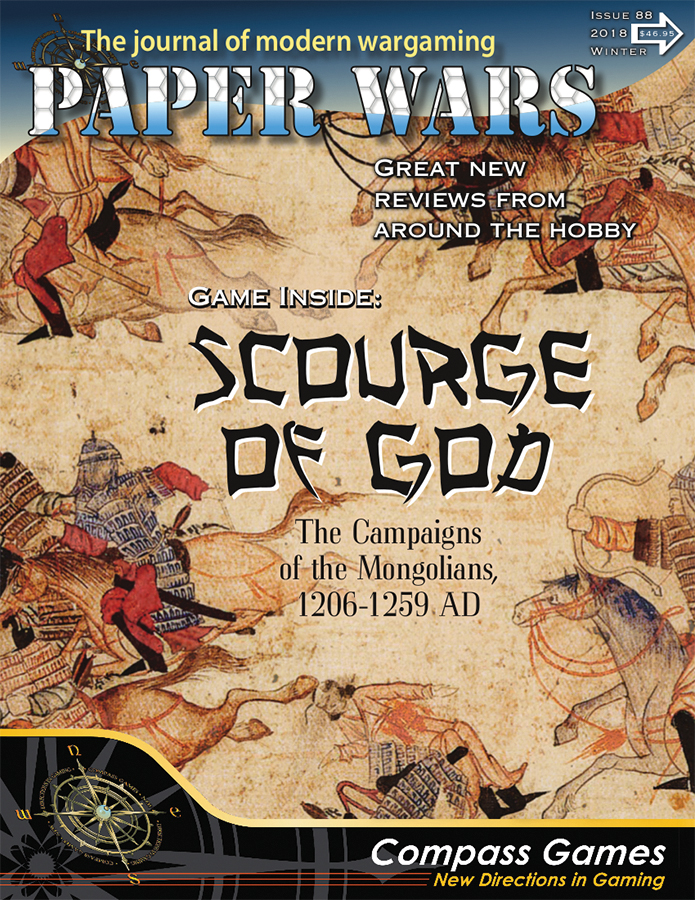 Paper Wars #88: Scouge Of God Box Front