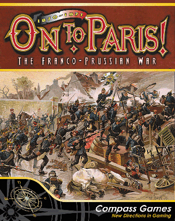 On To Paris 1870-71: Franco Prussian War Box Front