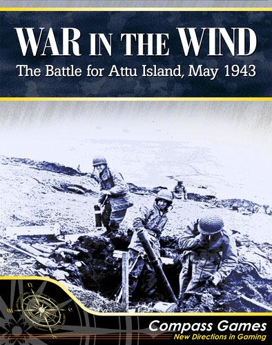 War In The Wind: Battle Of Attu 1943 Box Front
