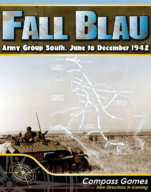 Fall Blau: Army Group South June To December 1942 Box Front