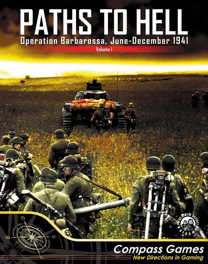 Paths To Hell: Operation Barbarossa - June-december 1941 Box Front