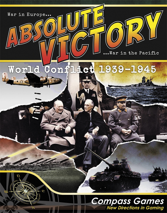 Absolute Victory: World Conflict 1939-1945 Box Front
