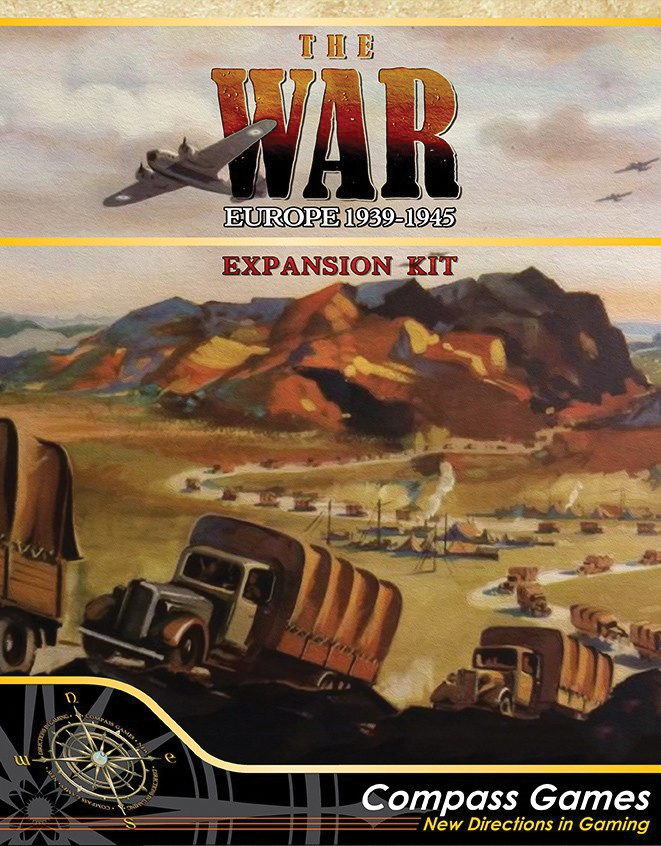 The War: Europe Expansion Kit Box Front