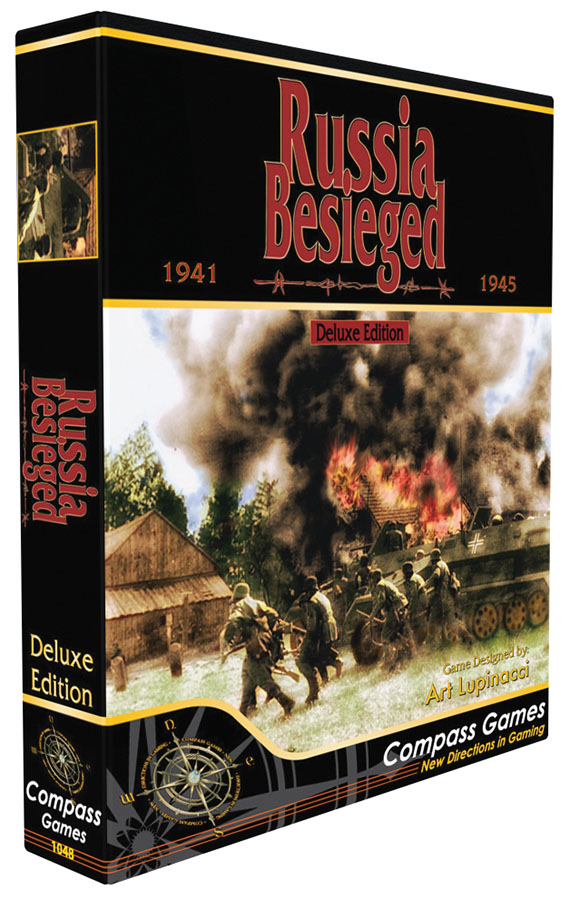 Russia Besieged: Eastern Front World War 2 - Deluxe Edition Game Box