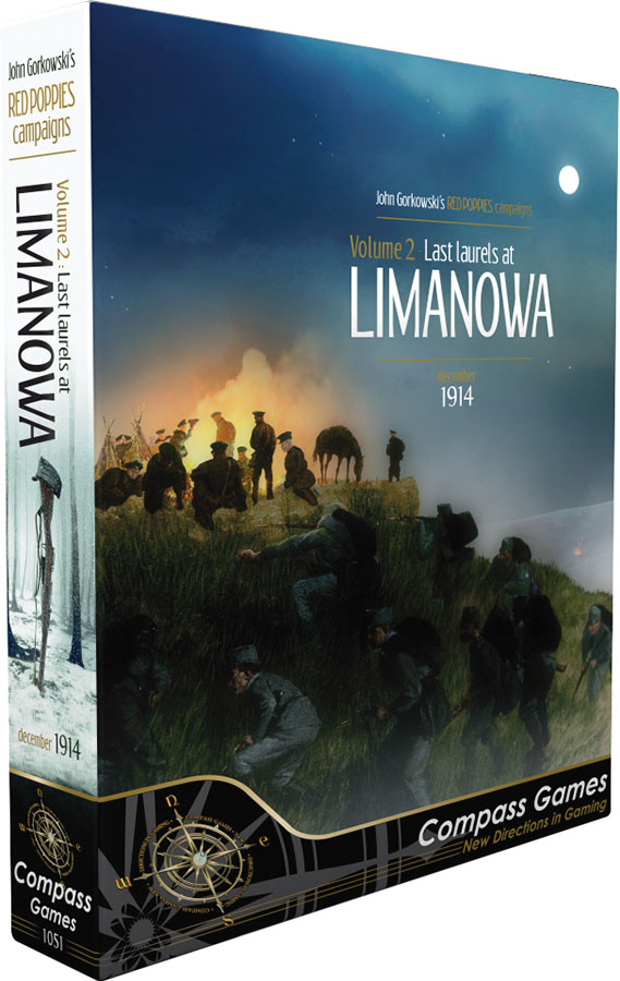 Red Poppies Campaigns: Volume 2 - Last Laurels At Limanowa Box Front