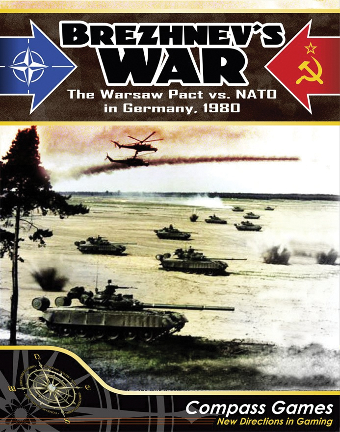 Brezhnevs War: Nato Vs The Warsaw Pact In Germany 1980 Box Front
