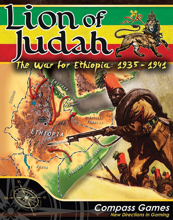 Lion Of Judah: The War For Ethiopia Box Front