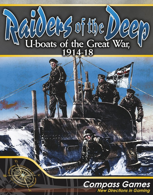 Raiders Of The Deep: U-boats Of The Great War 1914-1918 Box Front