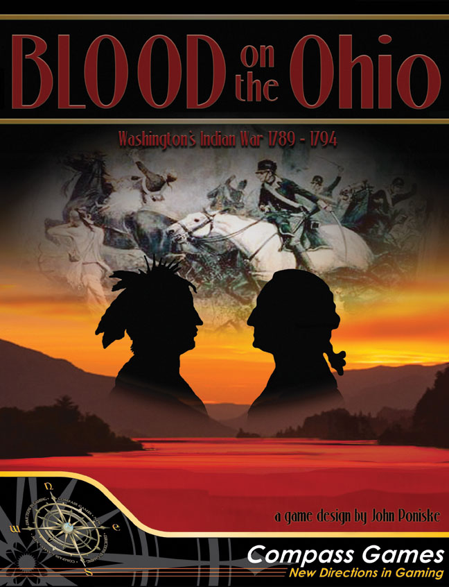 Blood On The Ohio: The Northwest Indian War 1789 - 1794 Box Front