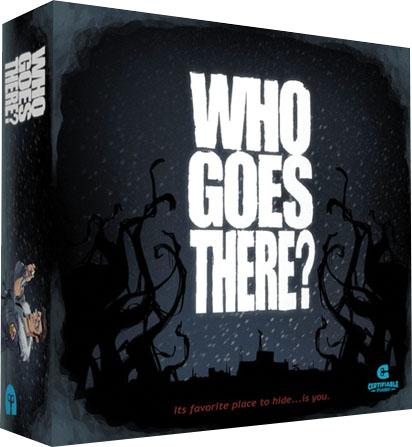 Who Goes There? Game Box