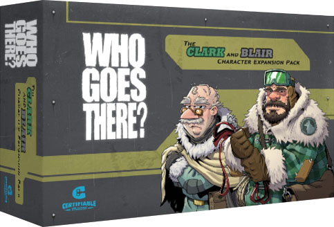 Who Goes There?: Blair And Clark Expansion Pack Game Box