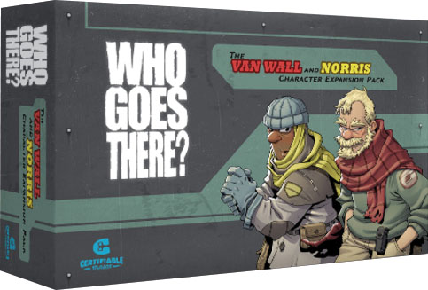 Who Goes There?: Van Wall And Norris Expansion Pack Game Box